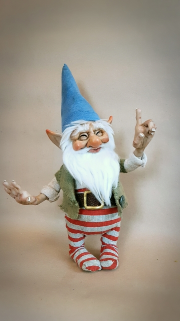 SOLD Classic Gnome 'Willibrord'