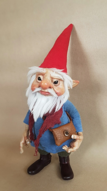 SOLD Classic Gnome 'Asmund'