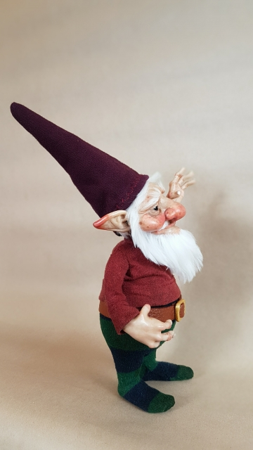 SOLD Classic Gnome 'Arvid'