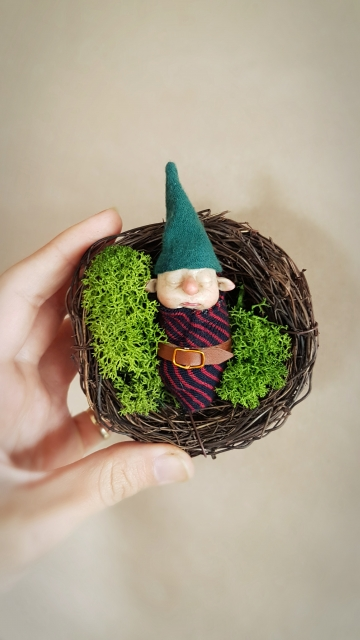 SOLD Gnome Baby