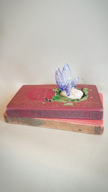 SOLD 'Faerie Bottom' - OOAK Book Sculpture