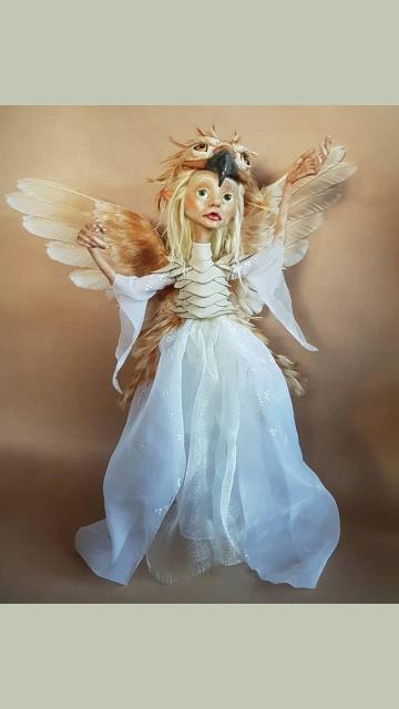 Bird-Winged Royal Faerie 'Tansa'